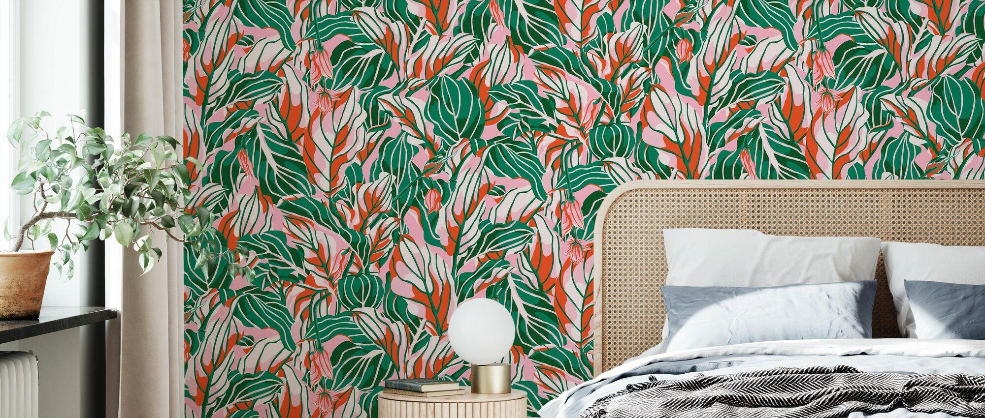 Stunner Peachy - Wallpaper - Bedroom