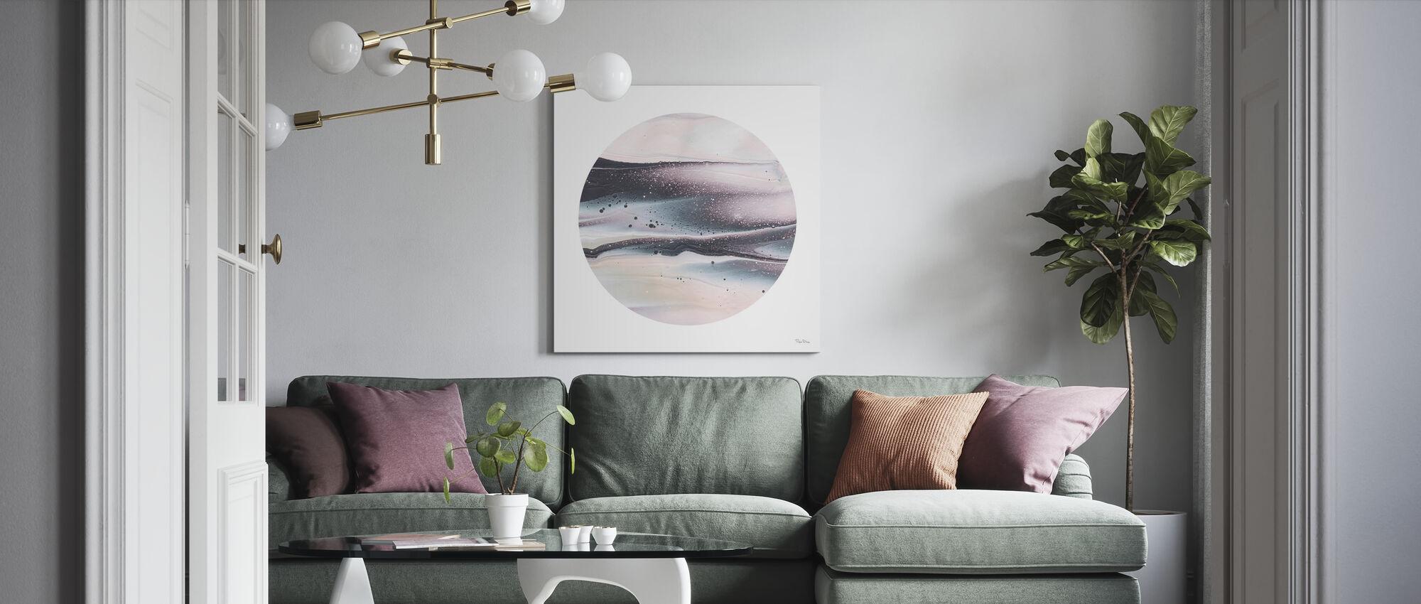 Dark Matter I - Canvas print - Living Room