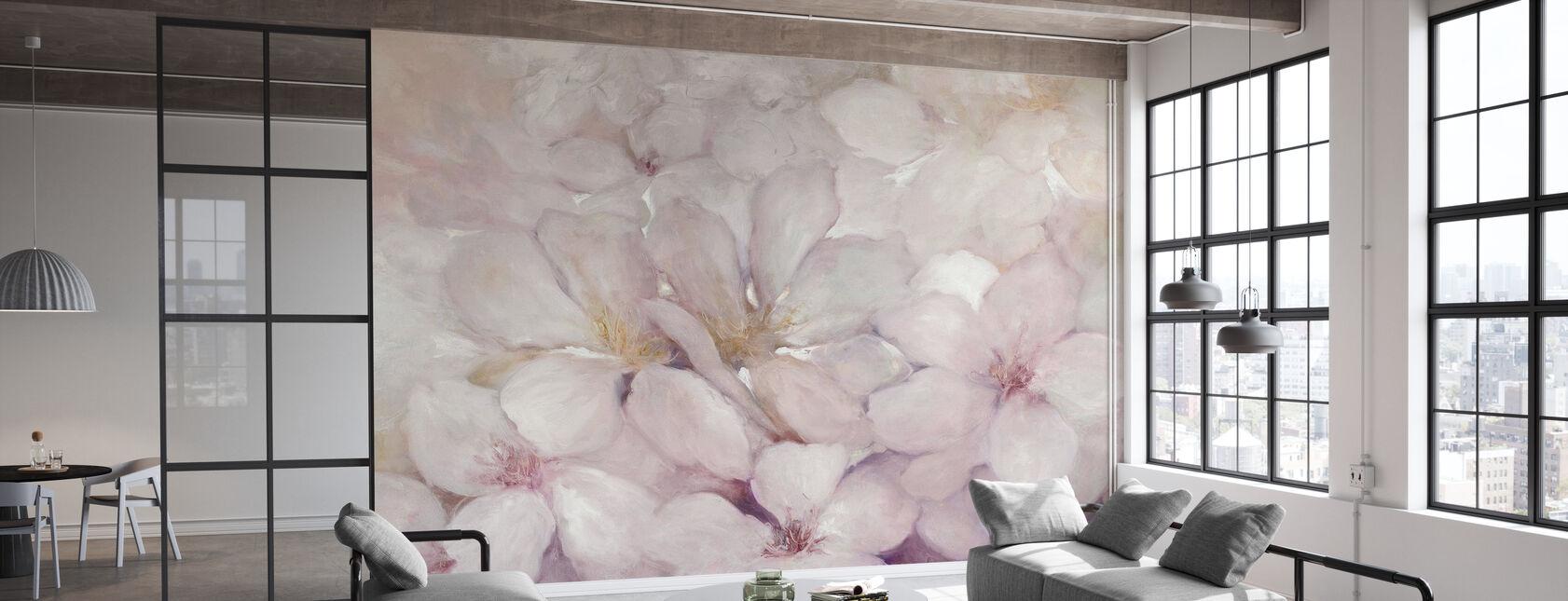 Apple Blossoms - Wallpaper - Office