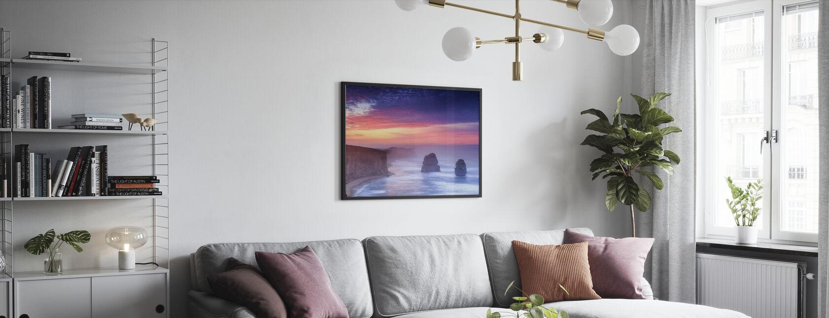 Australian Shoreline - Poster - Living Room