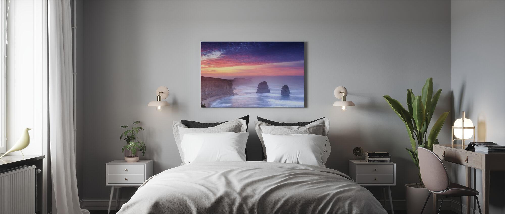 Australian Strandlinje - Canvastavla - Sovrum