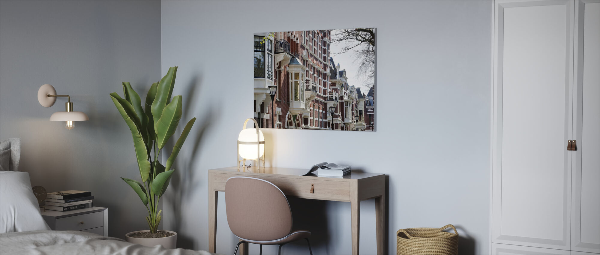 Kralingen in Rotterdam - Leinwandbild - Büro