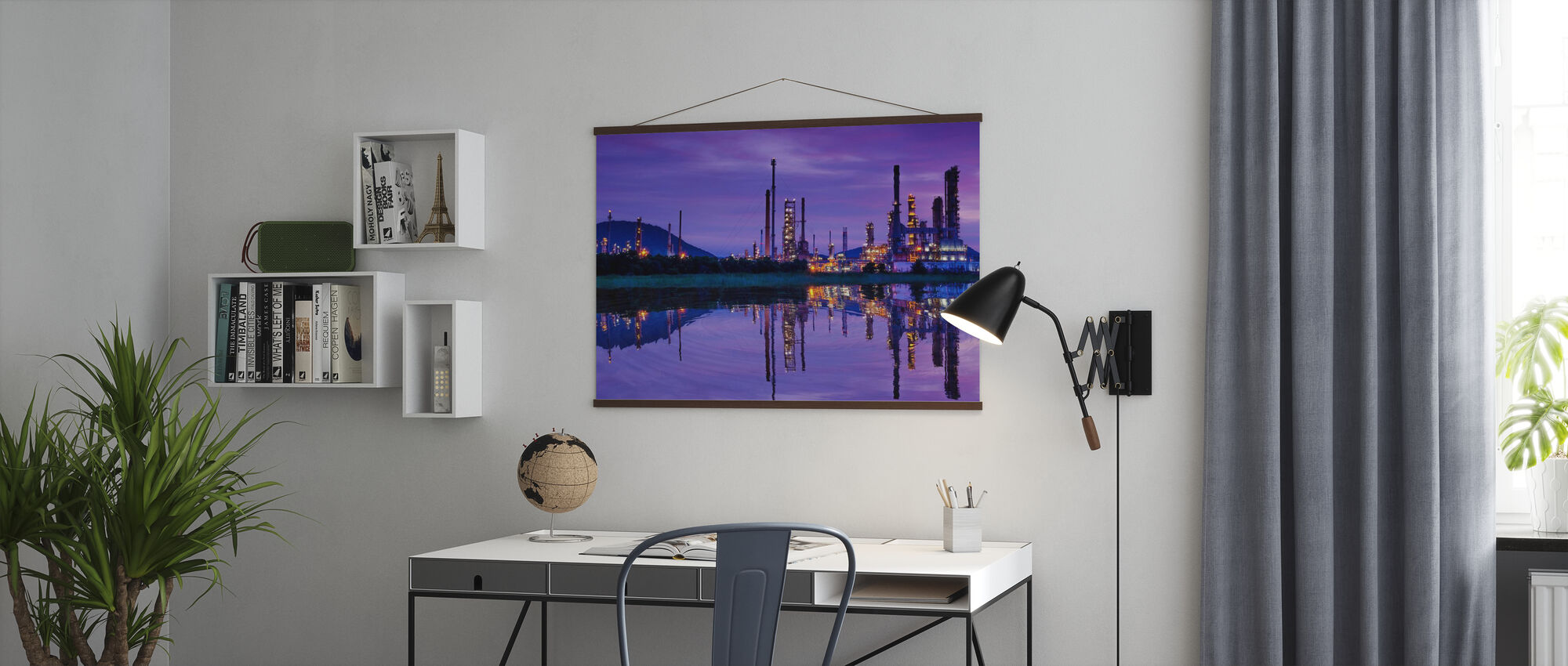 Petrochemical Industry - Poster - Office