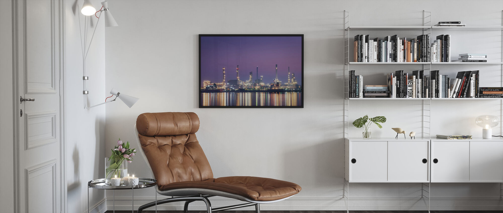 Petroleum Morning - Poster - Living Room