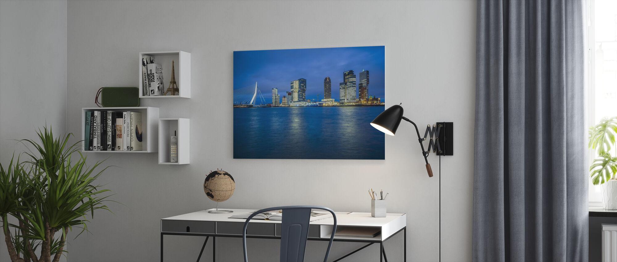 Radiant Rotterdam - Leinwandbild - Büro
