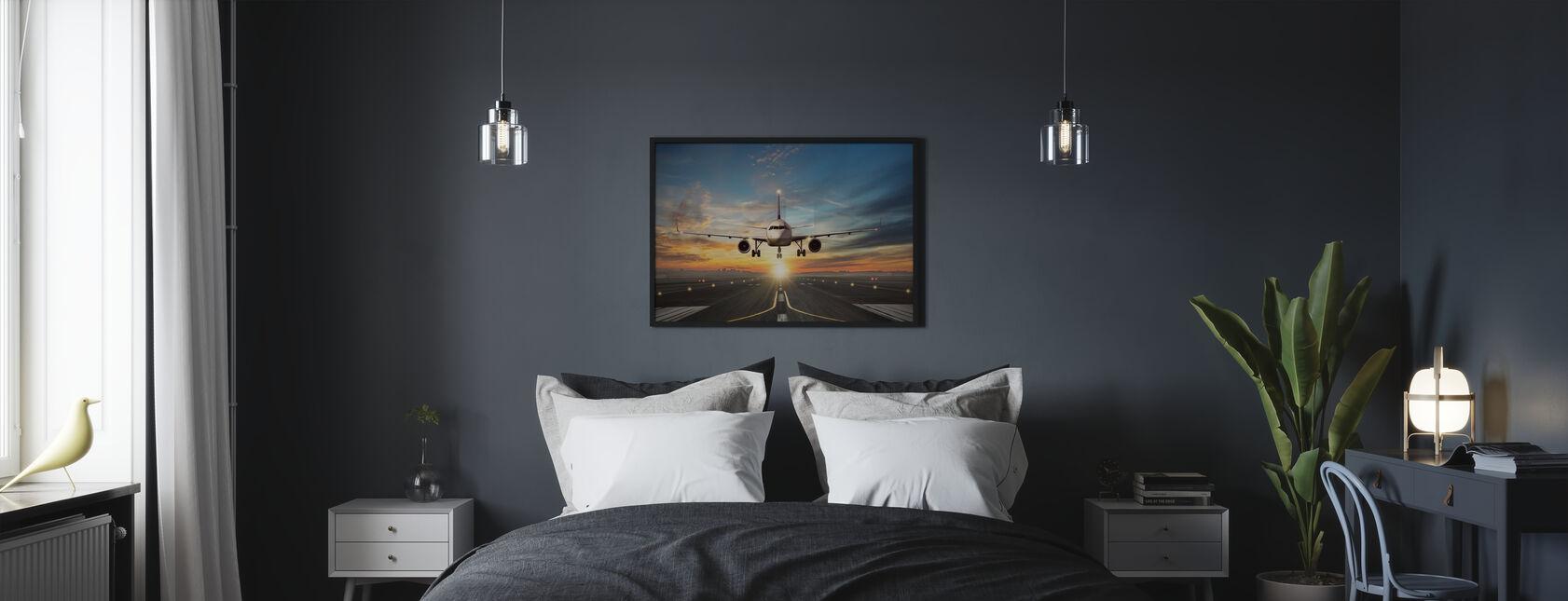 Zonsondergang aan boord - Poster - Slaapkamer