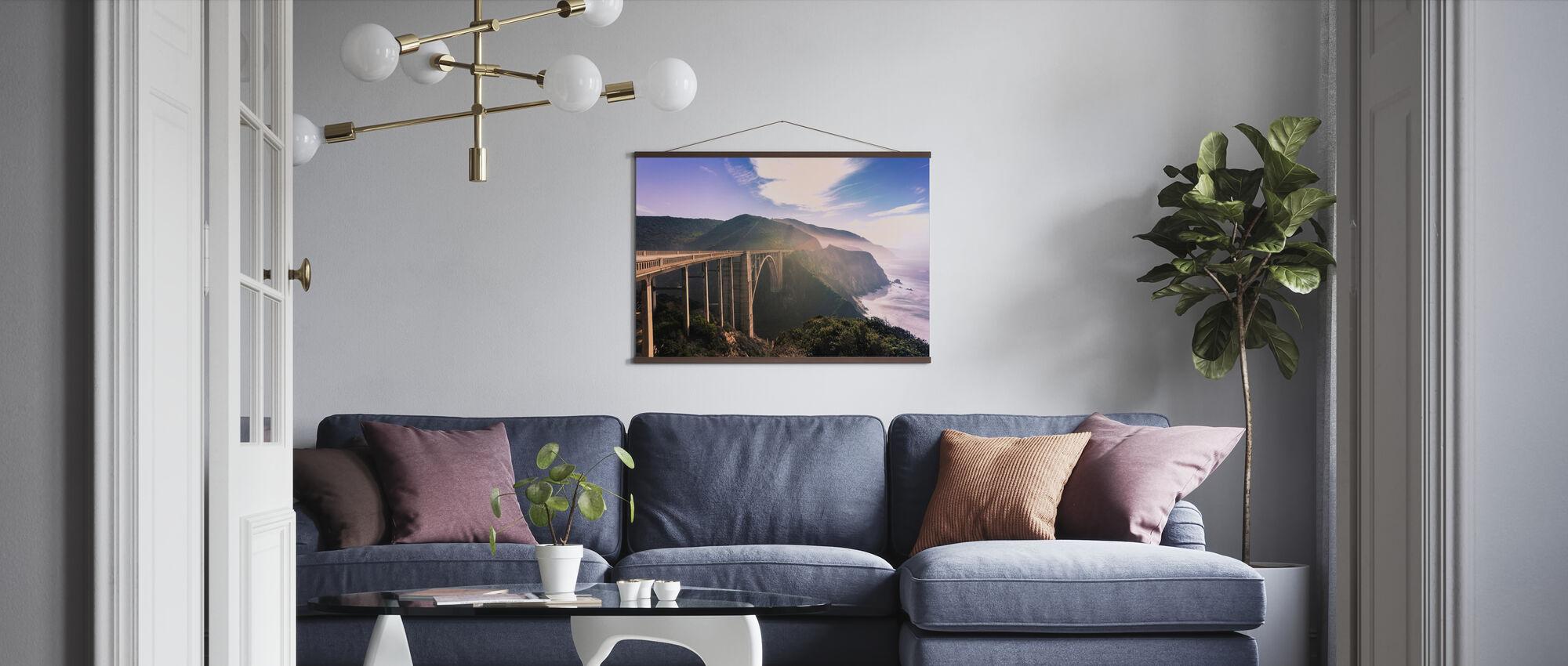 Monterey drømmer - Plakat - Stue