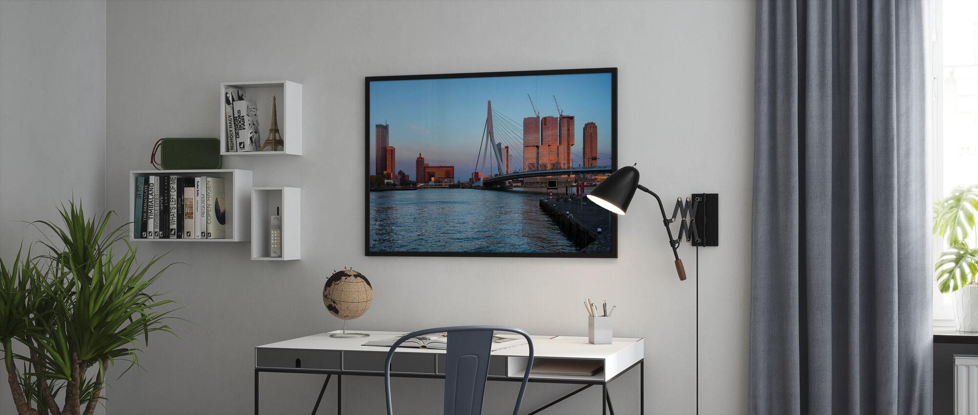 Rotterdam Silhouette - Poster - Büro