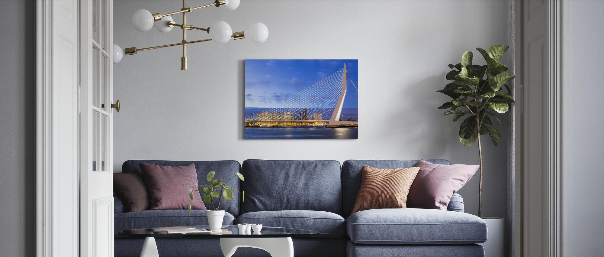 Die Strings von Rotterdam - Leinwandbild - Wohnzimmer