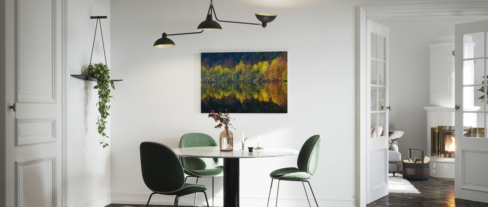 Autumnal Silence - Canvas print - Kitchen