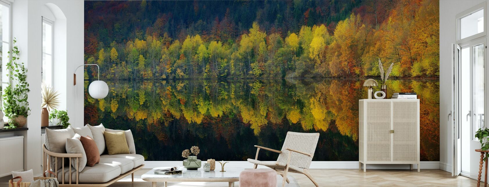 Autumnal Silence - Wallpaper - Living Room