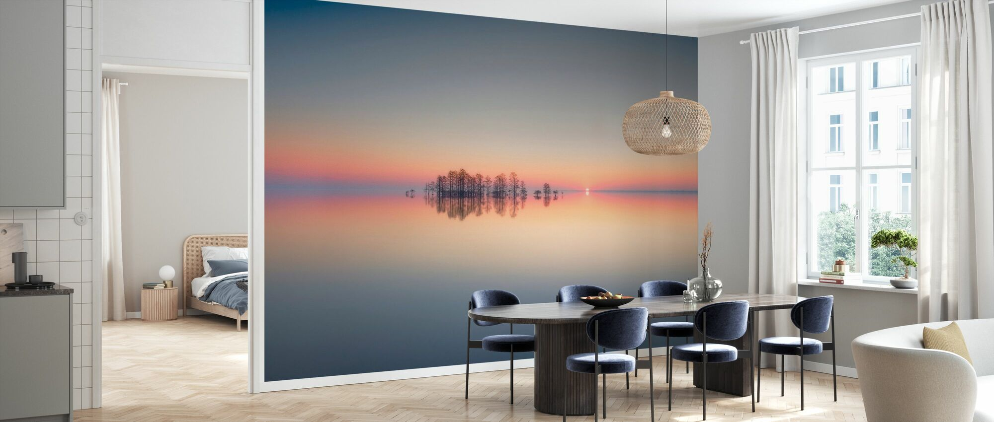 Dawn at Lake Mattamuskeet - Wallpaper - Kitchen