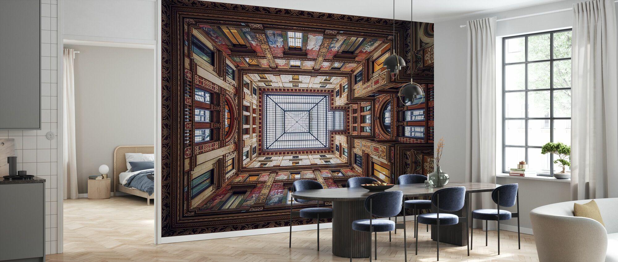 Galleria Sciarra, Rome - Wallpaper - Kitchen