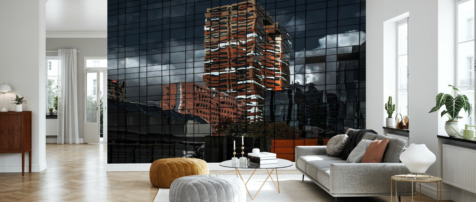 Puzzle Reflection - Wallpaper - Living Room
