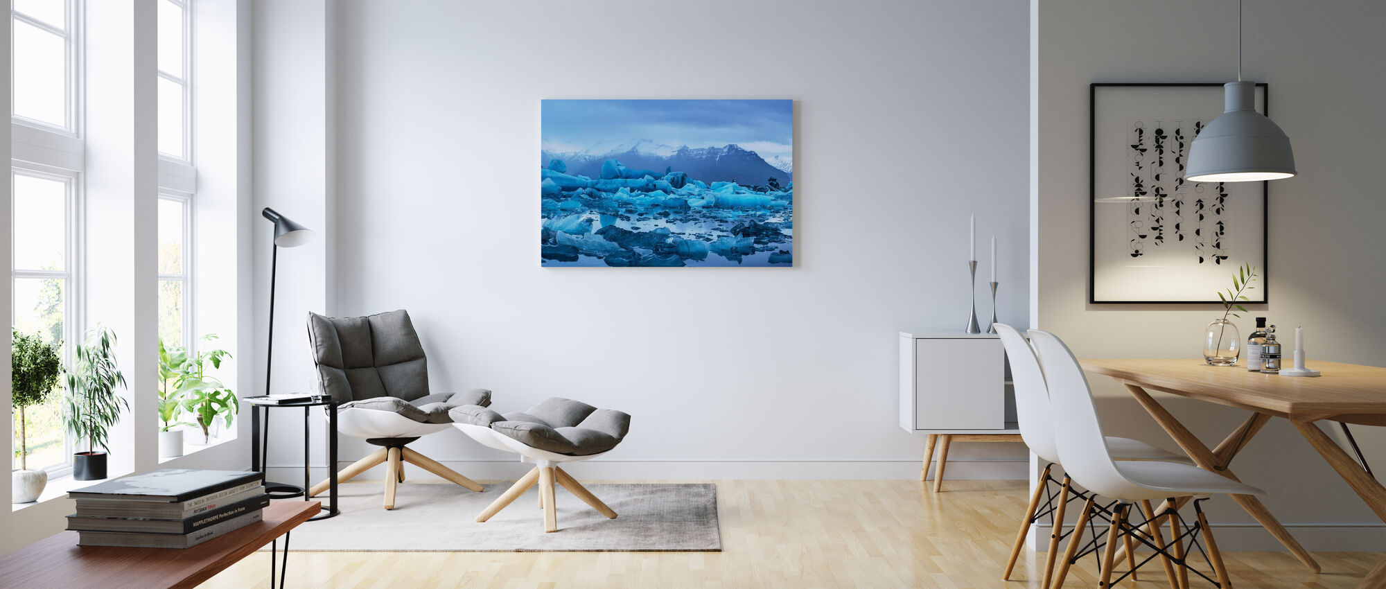 Light of Iceland - Canvas print - Living Room