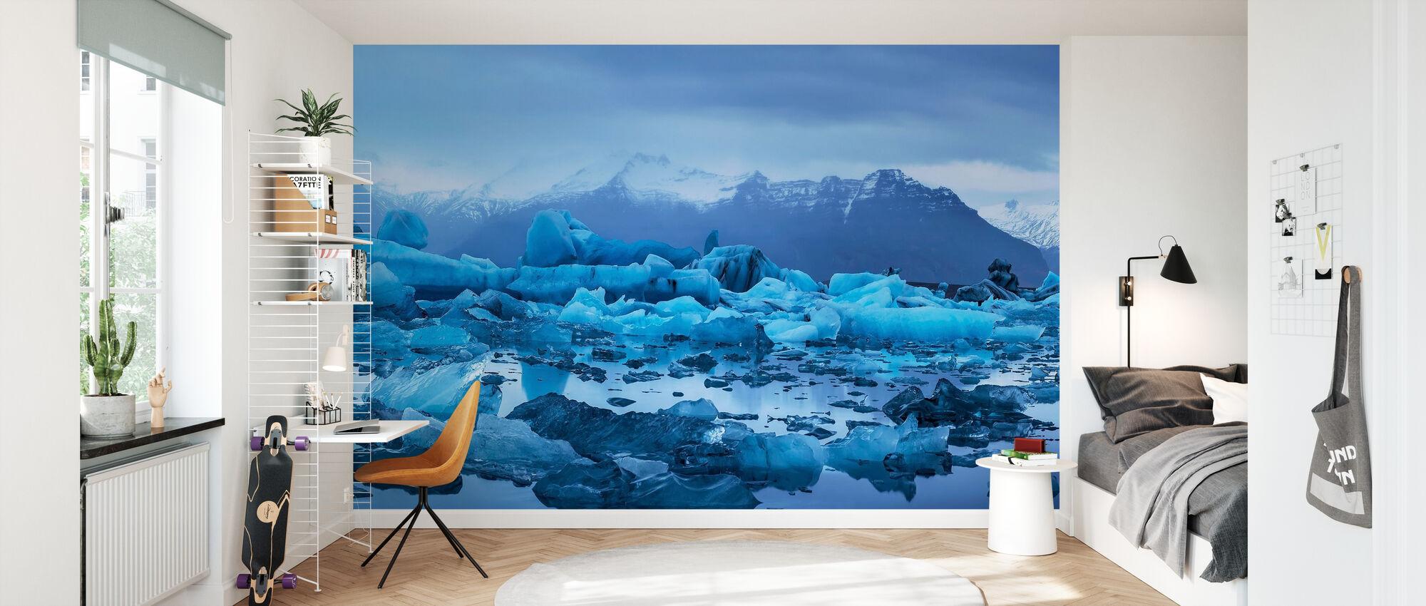 Light of Iceland - Wallpaper - Kids Room