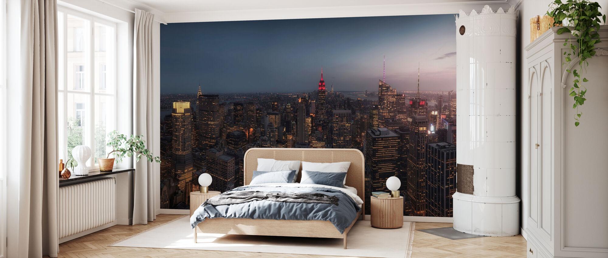 Lichter von New York - Tapete - Schlafzimmer