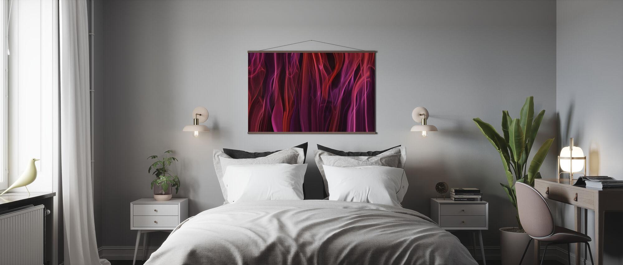 Tende volatili - Poster - Camera da letto