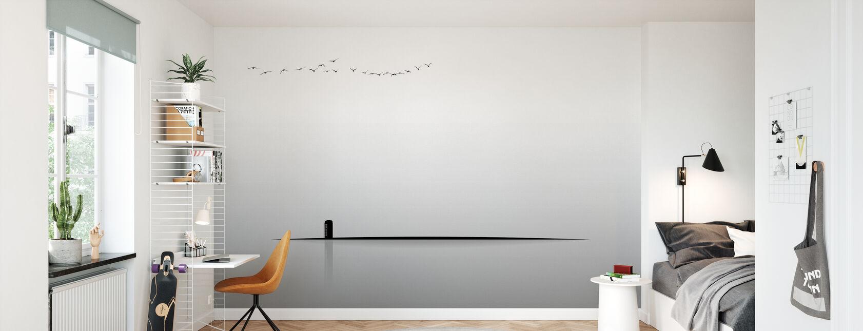 Téléphone payant - Papier peint - Chambre des enfants