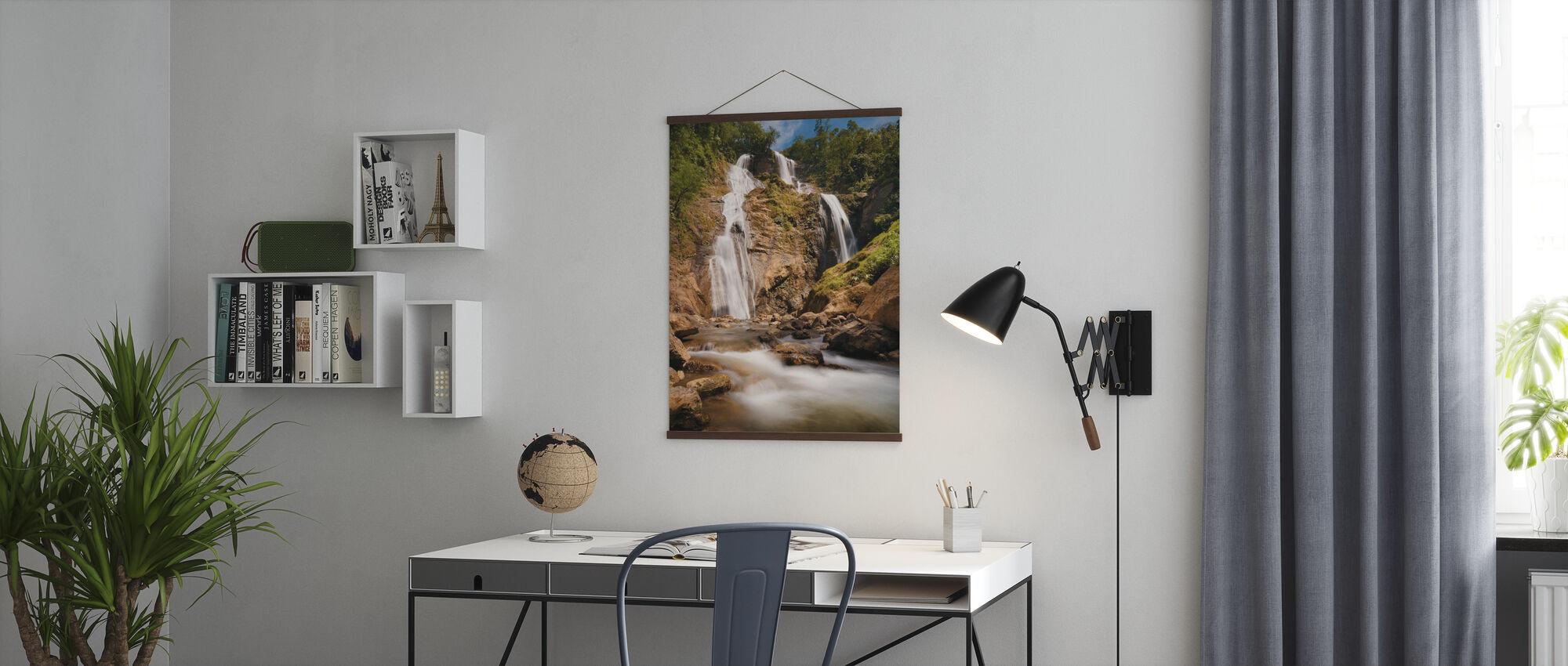 Bani Wasserfälle - Poster - Büro