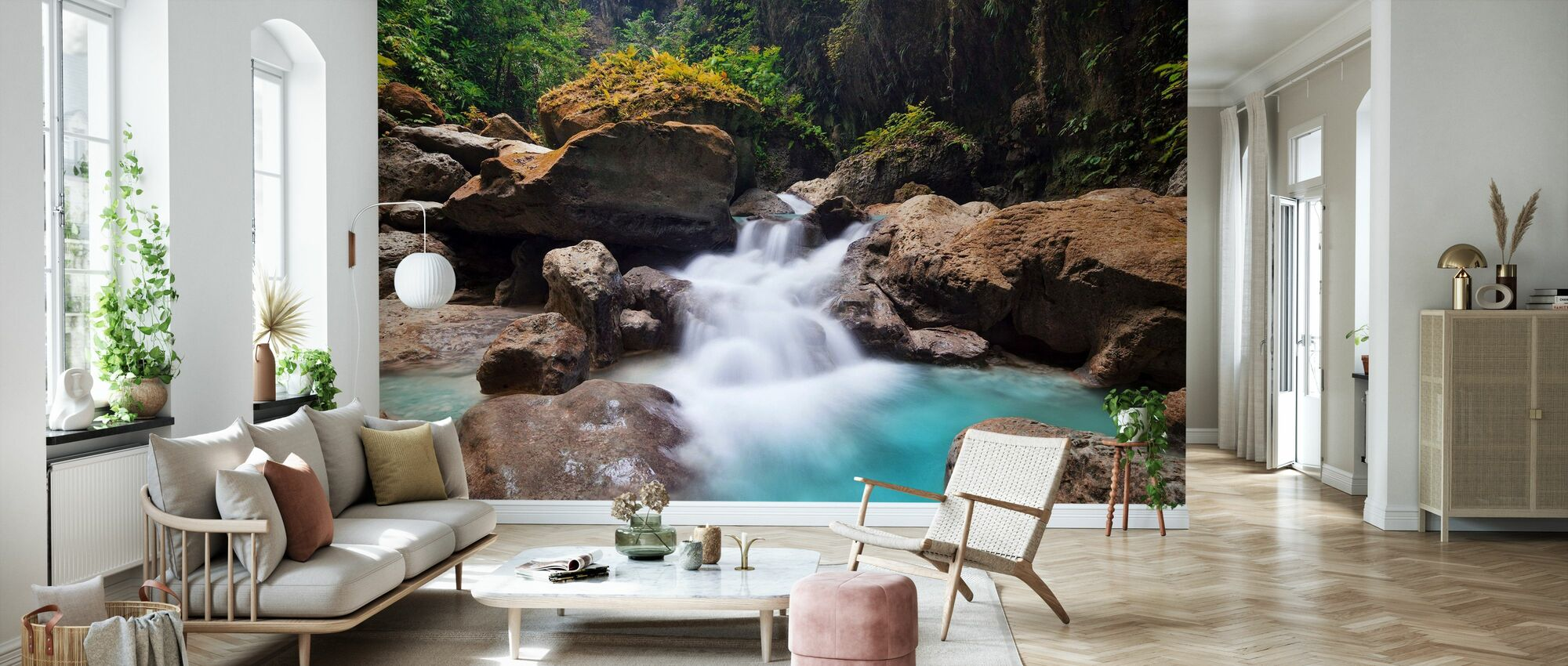 Canyon at Kawasan Falls I - Wallpaper - Living Room