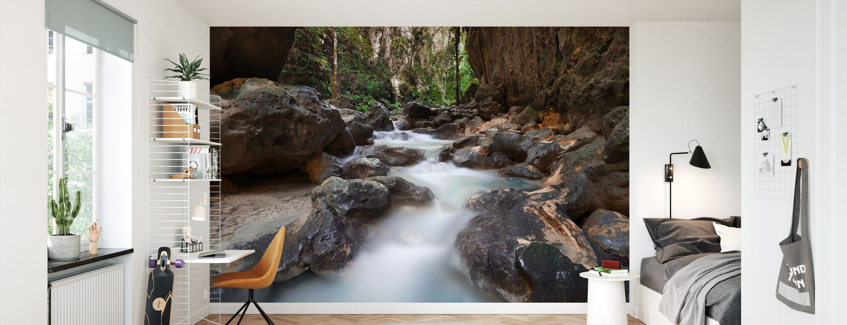 Canyon at Kawasan Falls II - Wallpaper - Kids Room