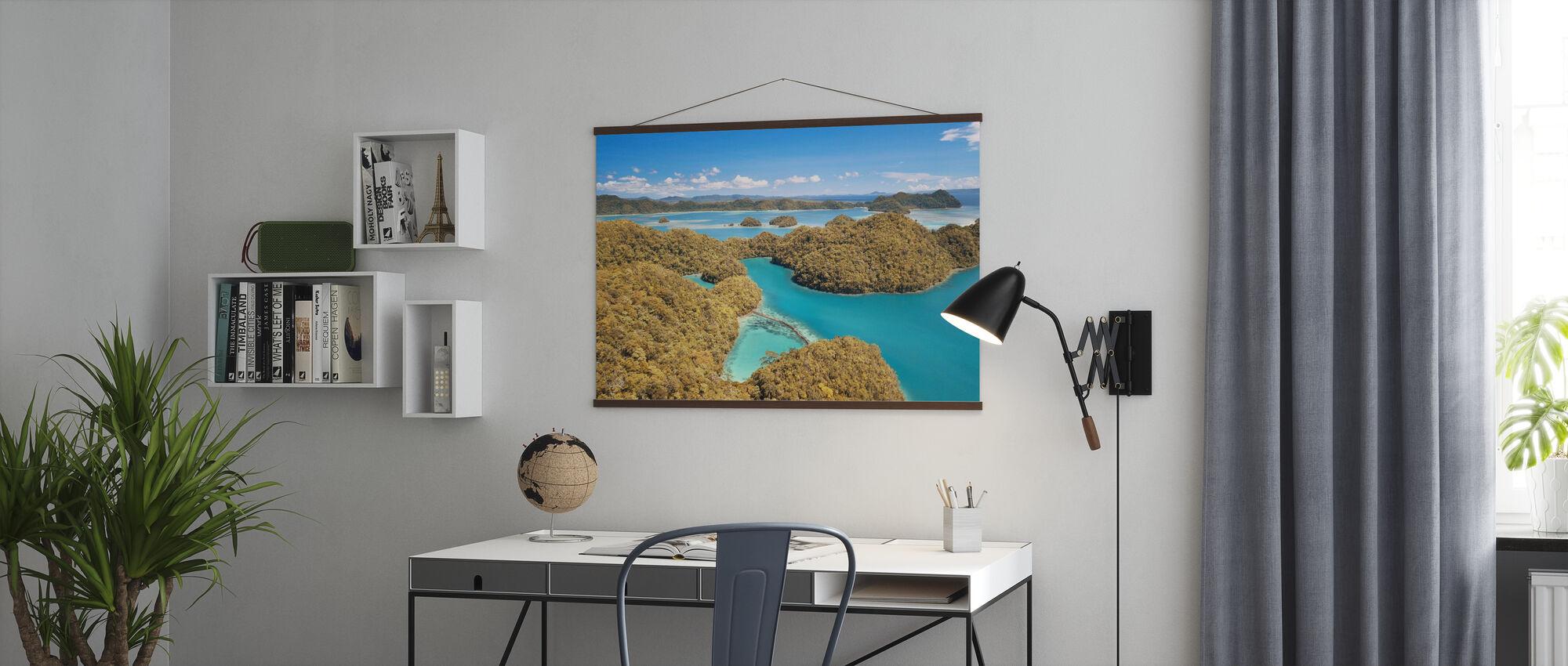 Sugba Lagoon - Poster - Büro