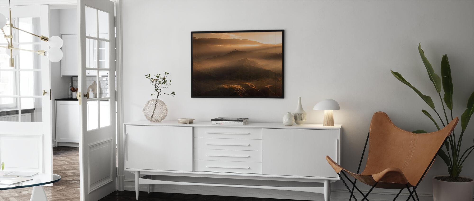 Sonnenaufgang bei Panimahawa Ridge I - Poster - Wohnzimmer