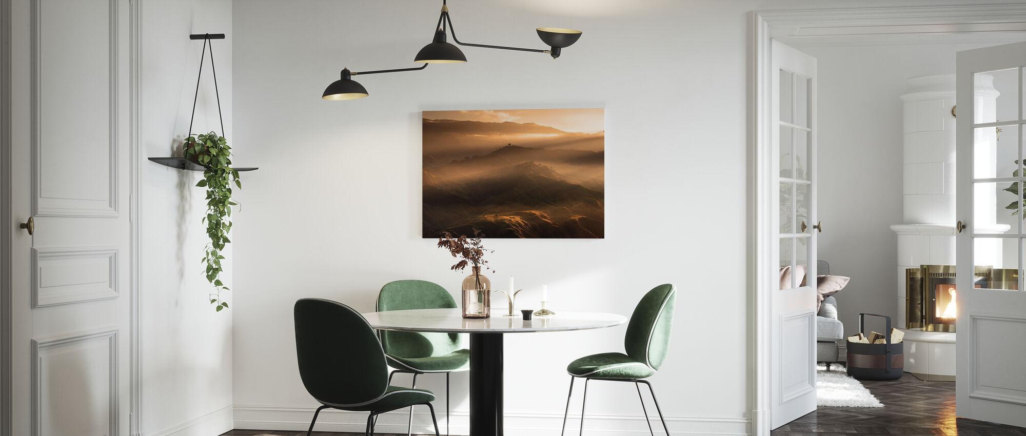 Sunrise At Panimahawa Ridge I - Canvas print - Kitchen