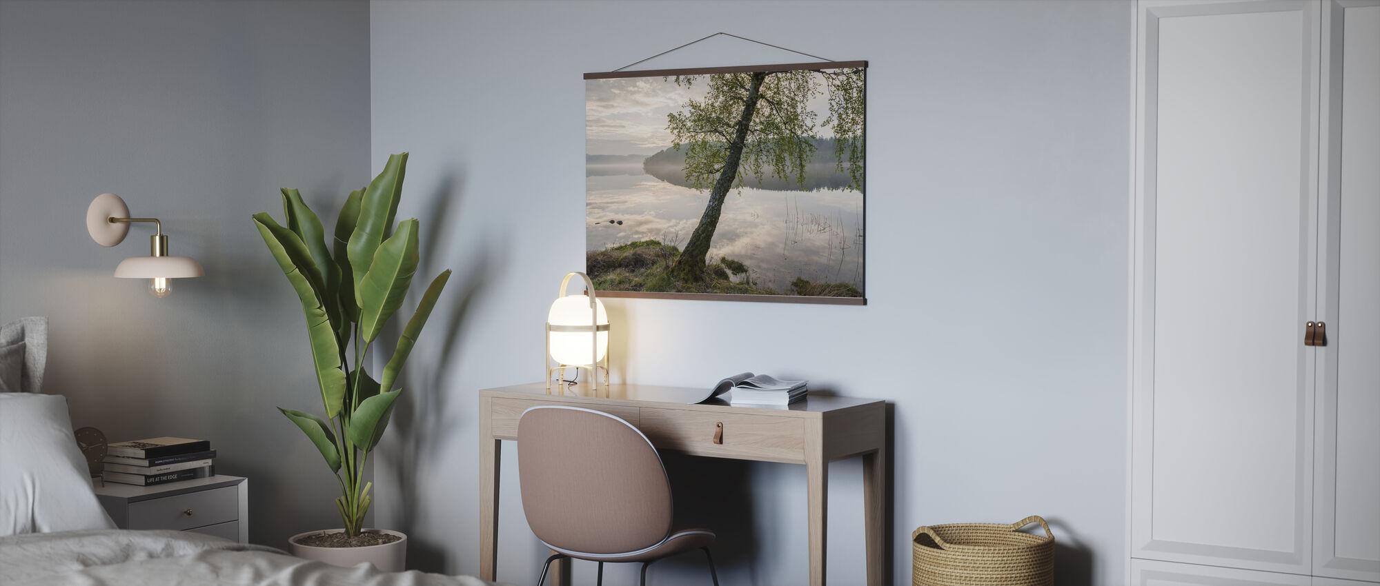 Beautiful Swedish Lake - Poster - Office