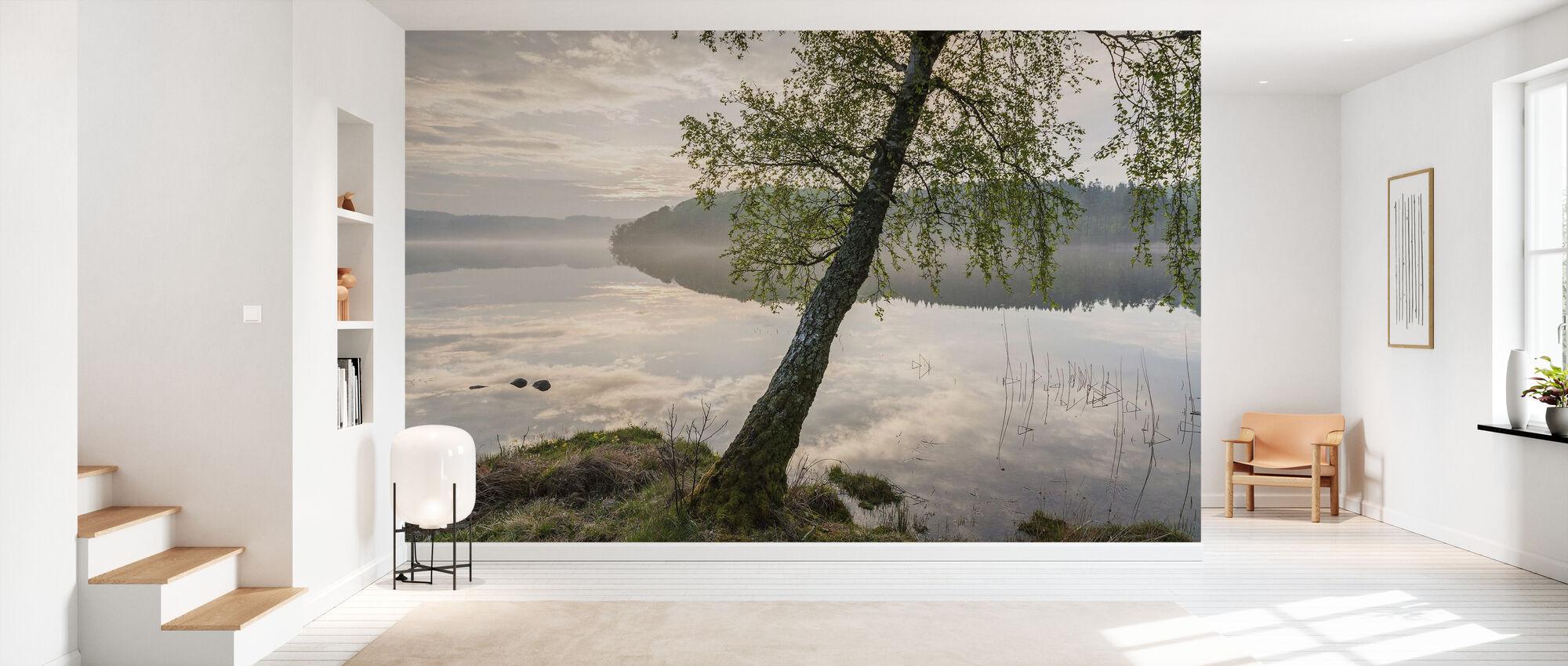 Beautiful Swedish Lake - Wallpaper - Hallway