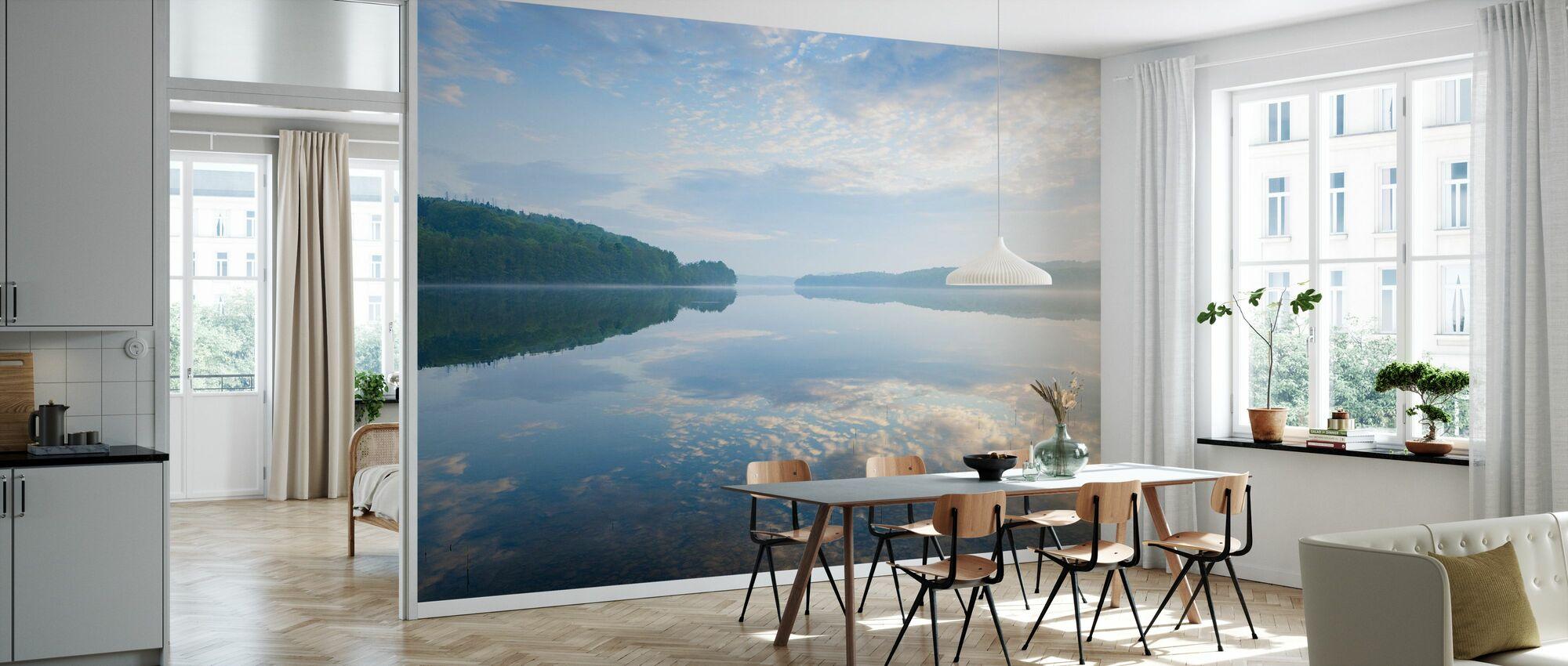 Blå Svenska Sommarsjön - Tapet - Kök
