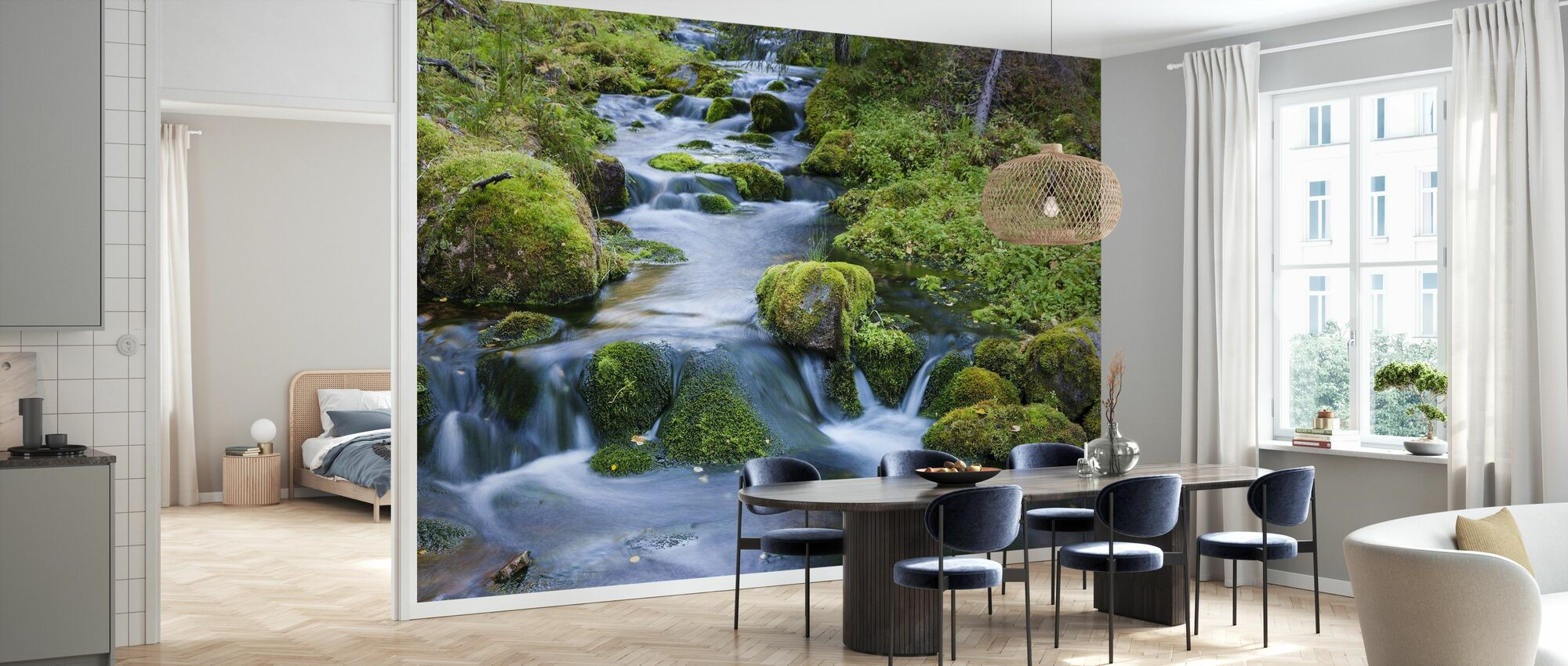 Finnish Stream - Wallpaper - Kitchen