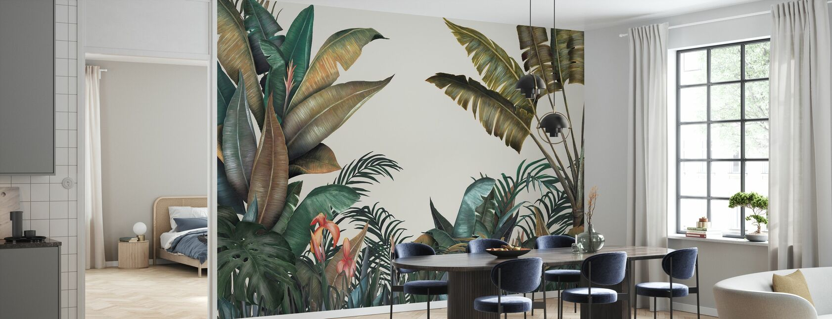 Tropical - Wallpaper - Kitchen