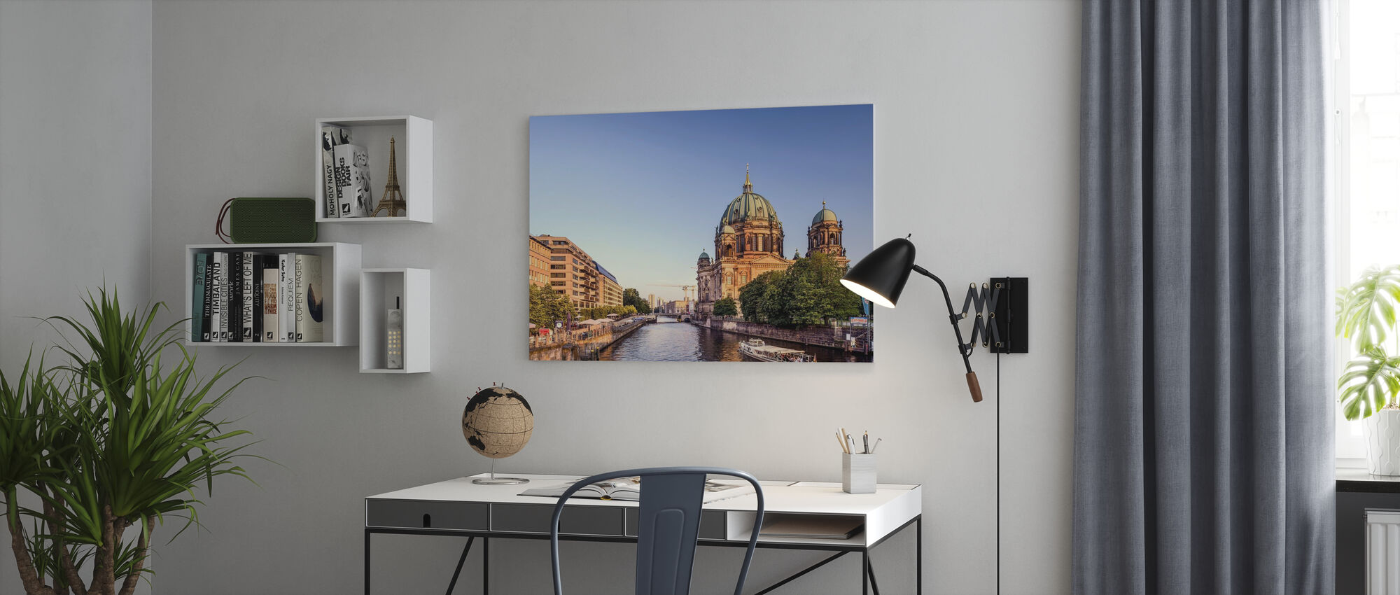 Berliner Dom - Canvas print - Office