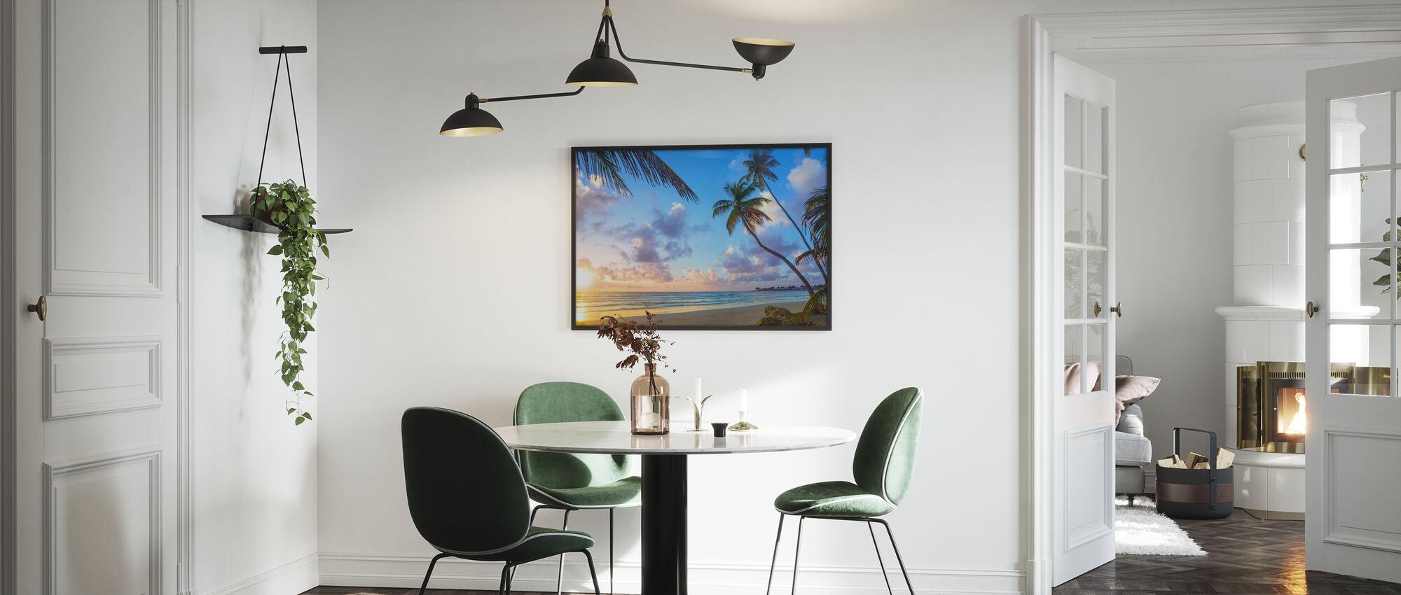 Rockley Bay, Tobago - Framed print - Kitchen