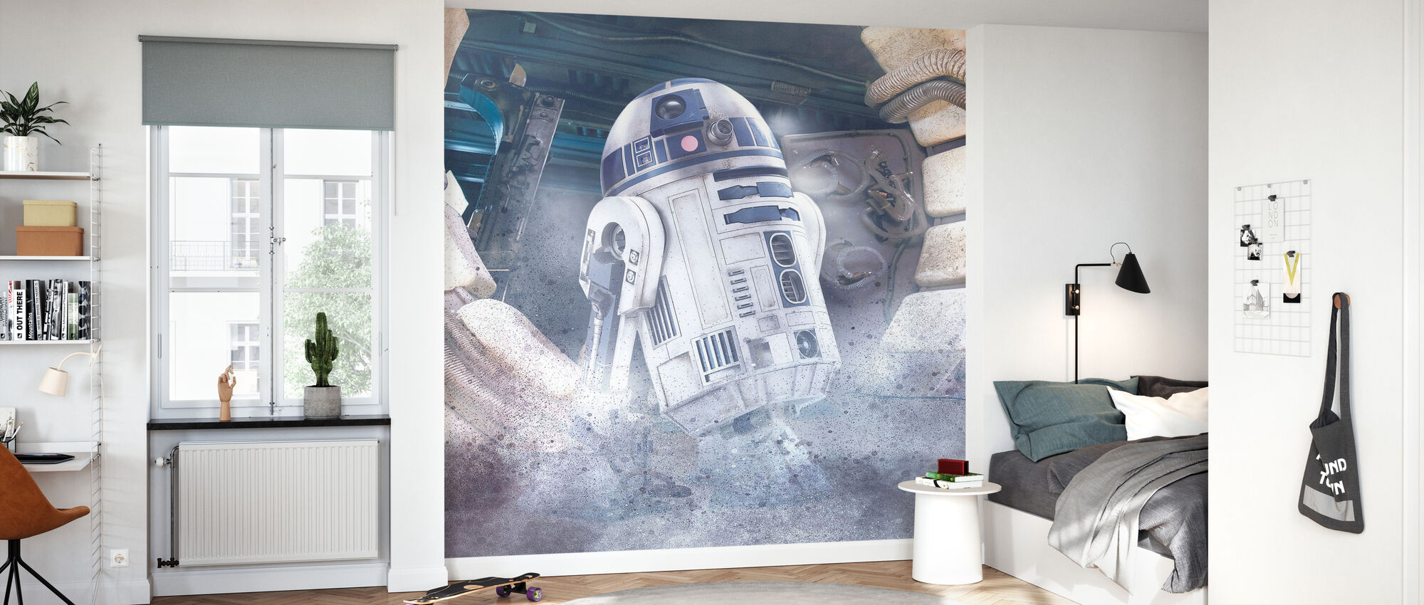 Star Wars - R2-D2 - Tapet - Barnrum