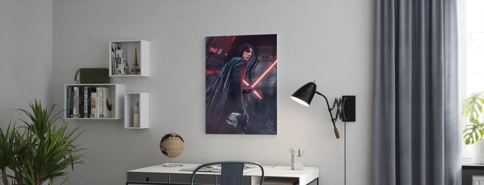 Star Wars - Kylo Ren - Billede på lærred - Kontor