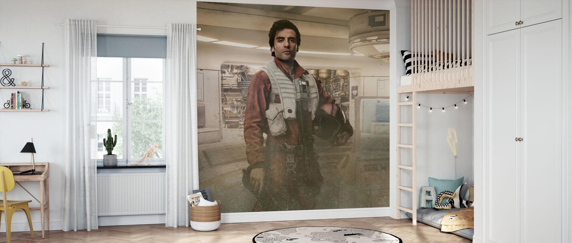 Star wars - Poe Dameron - Rebel Pilot - Tapet - Barnerom