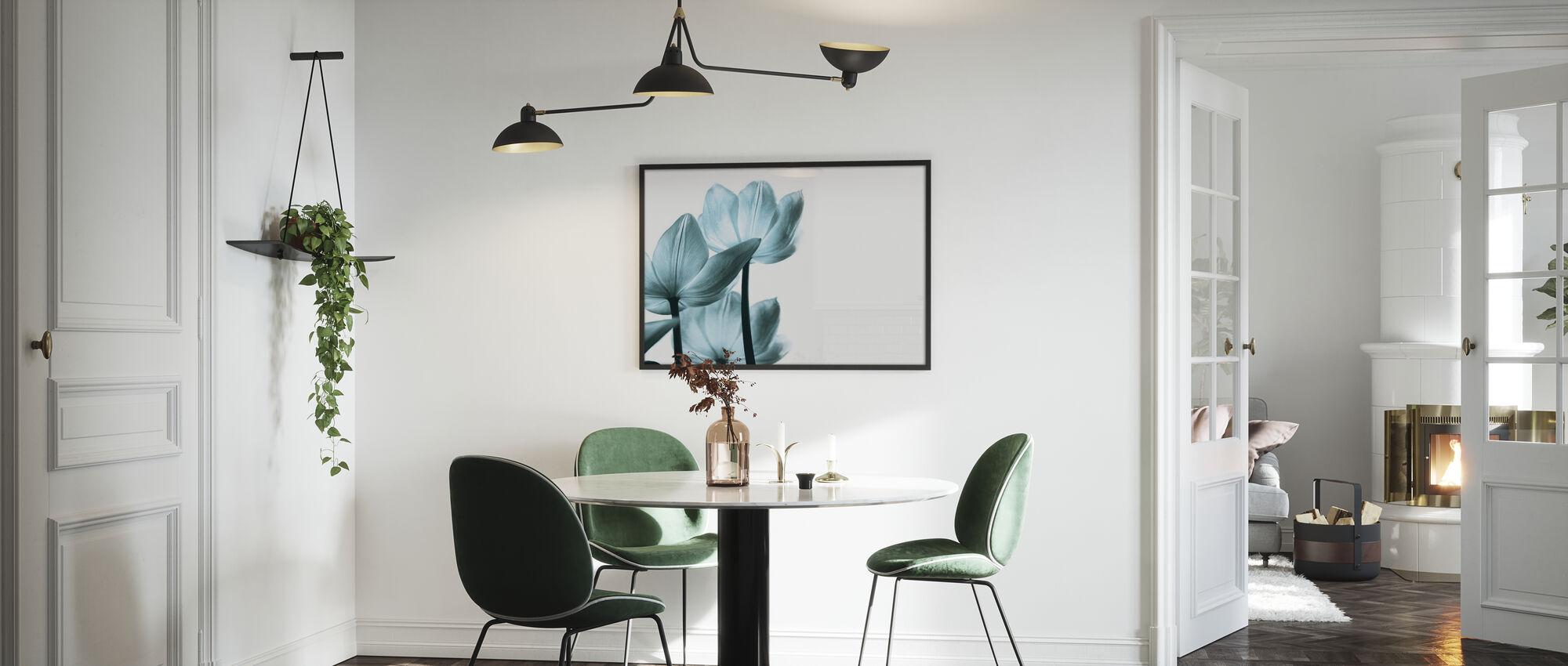 Doorschijnende Tulpen - Poster - Keuken