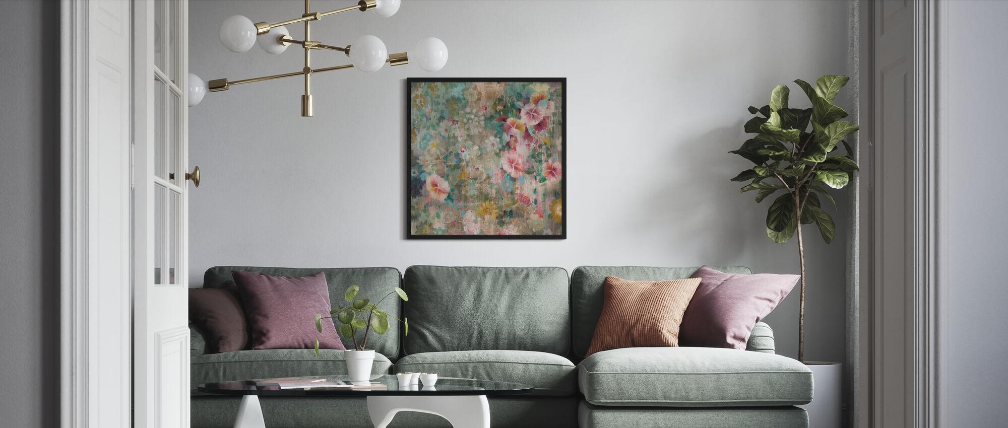Blomma dusch - Poster - Vardagsrum