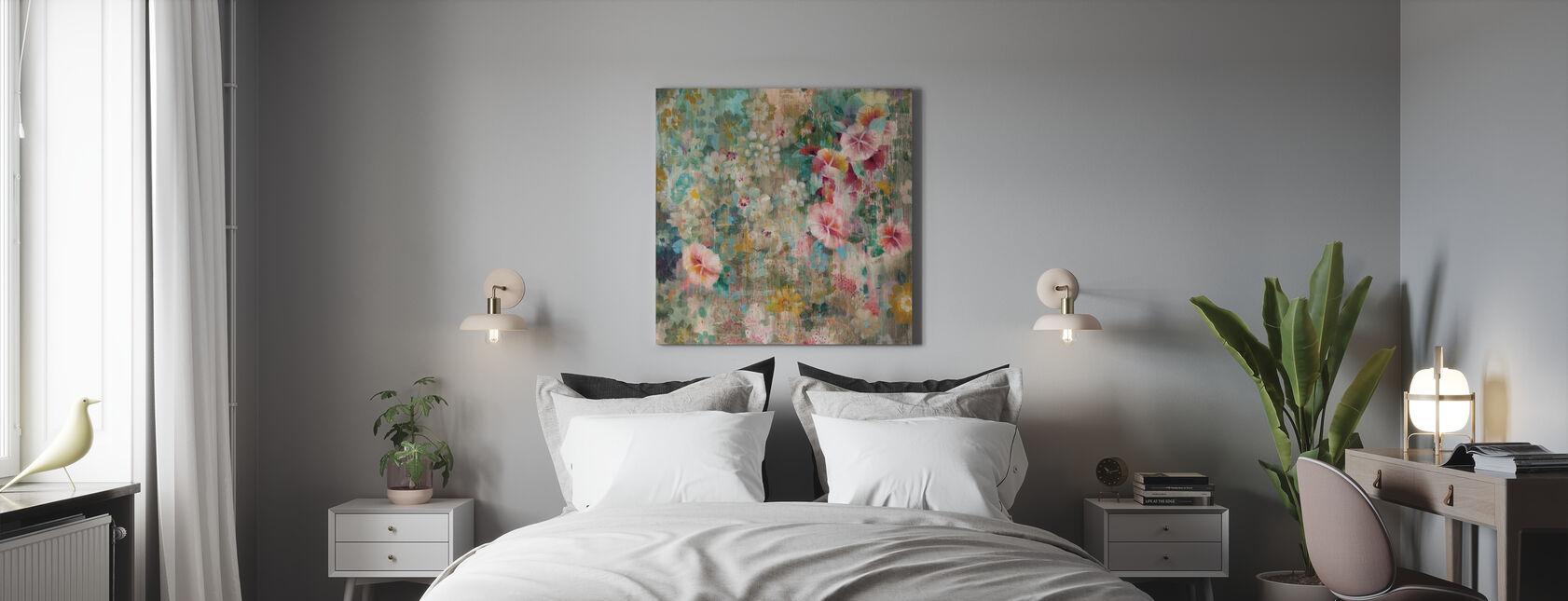 Blumendusche - Leinwandbild - Schlafzimmer