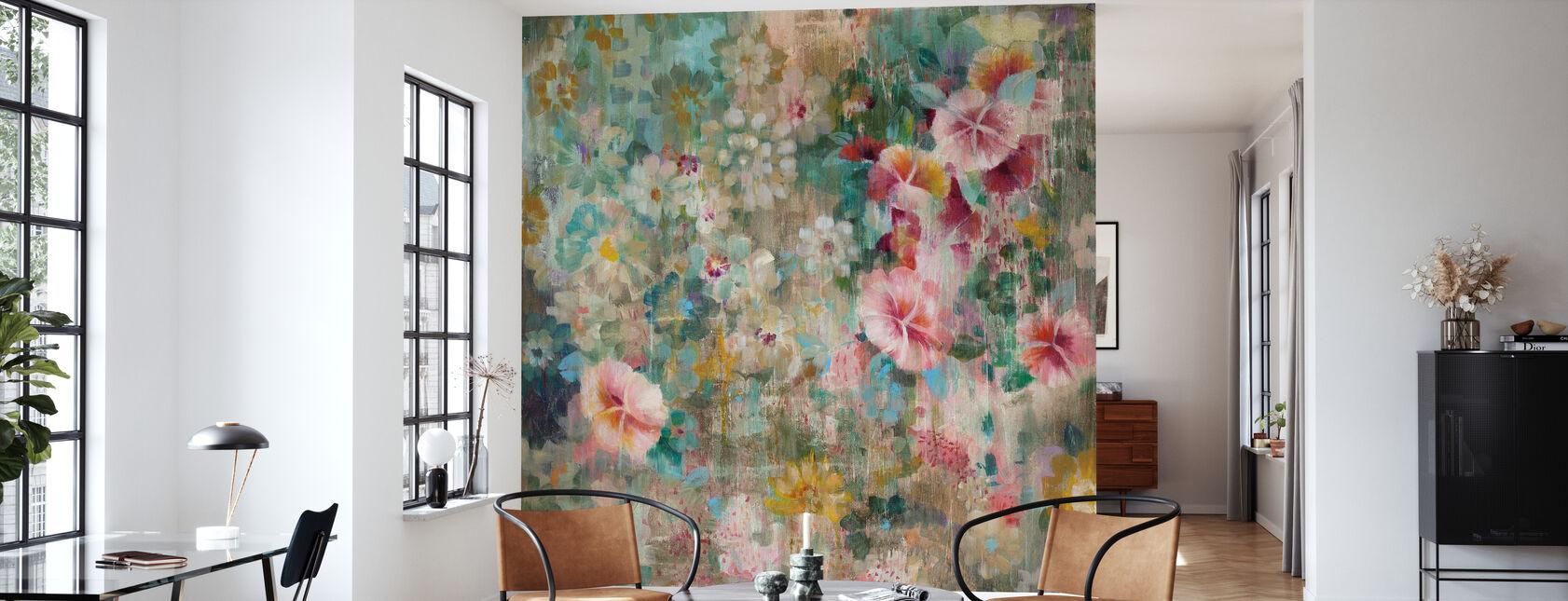 Flower Shower - Wallpaper - Living Room