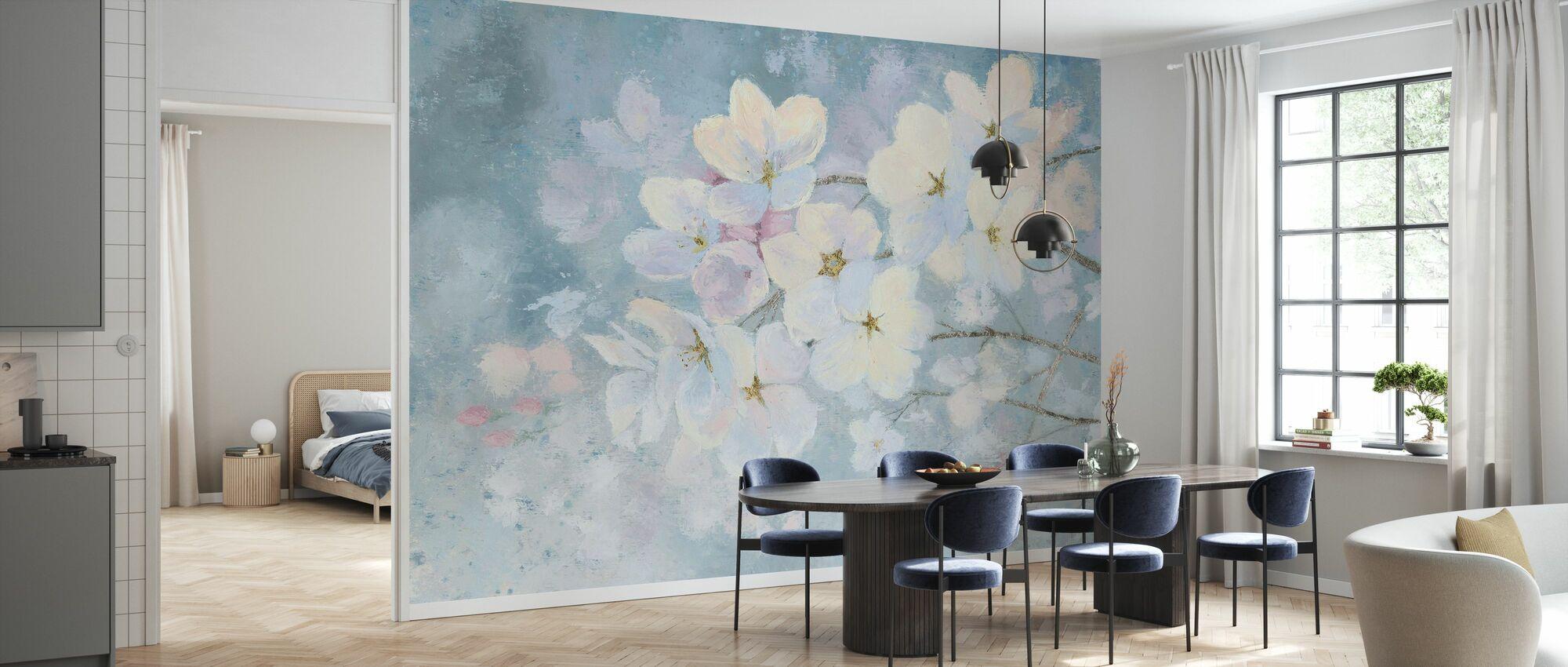 Splendid Bloom - Wallpaper - Kitchen