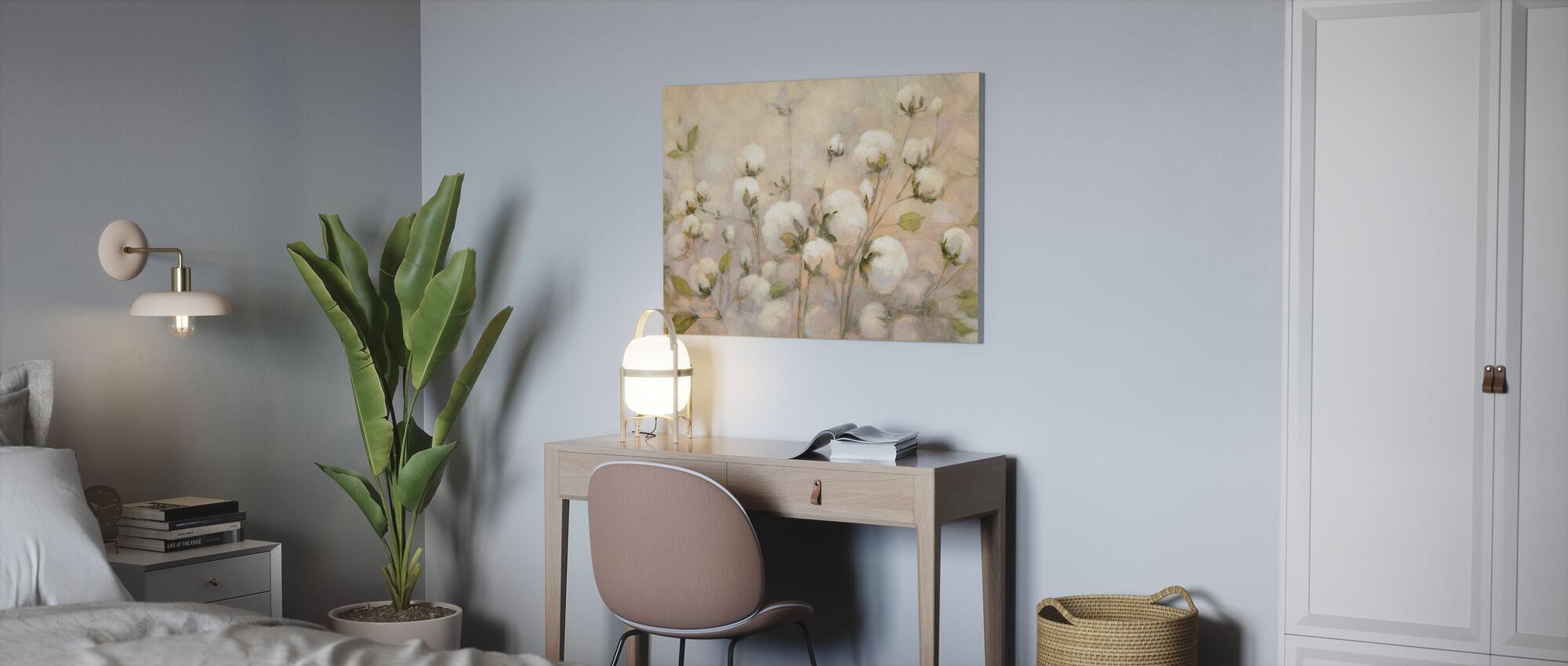 Cotton Field - Canvas print - Office