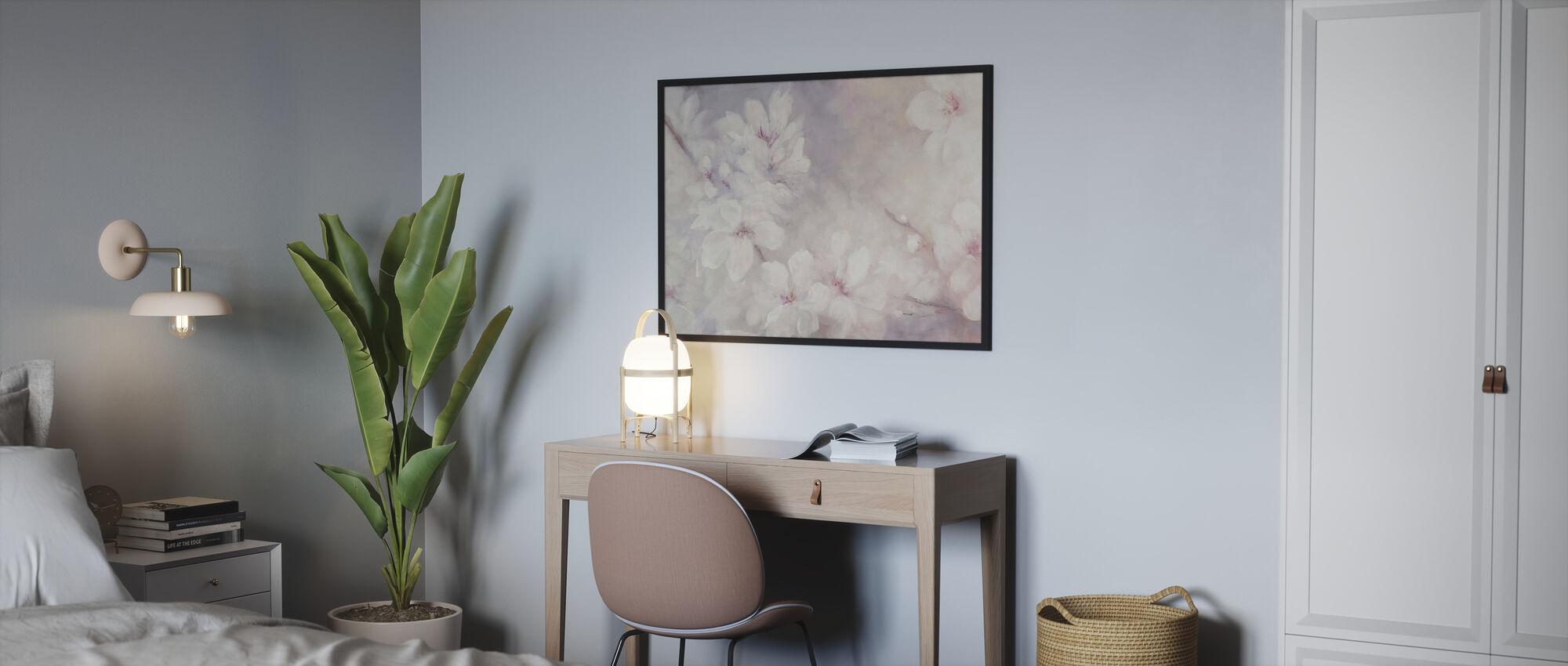 Kirschblüten Malerei - Poster - Schlafzimmer