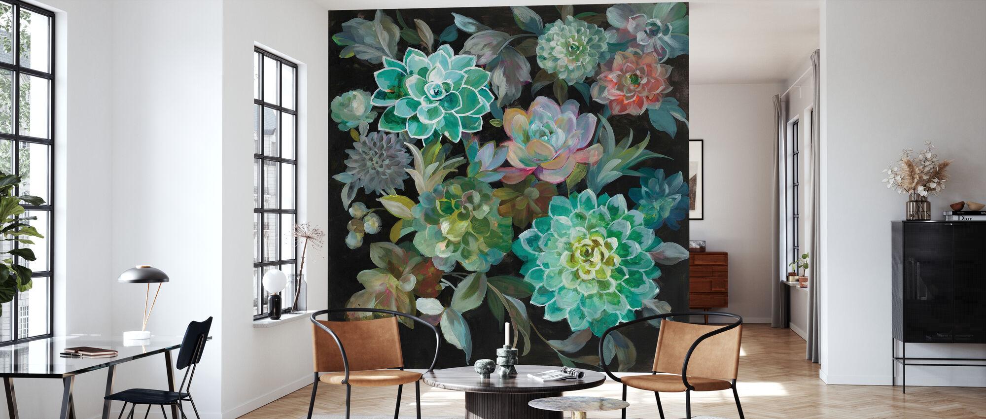 Blomster Sukkulenter - Tapet - Stue