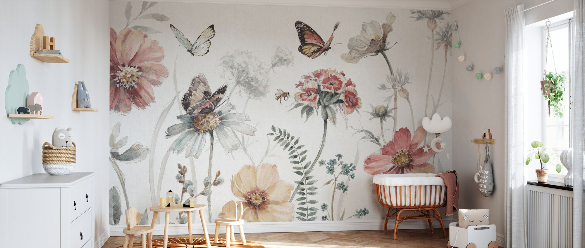 A Country Weekend - Wallpaper - Nursery