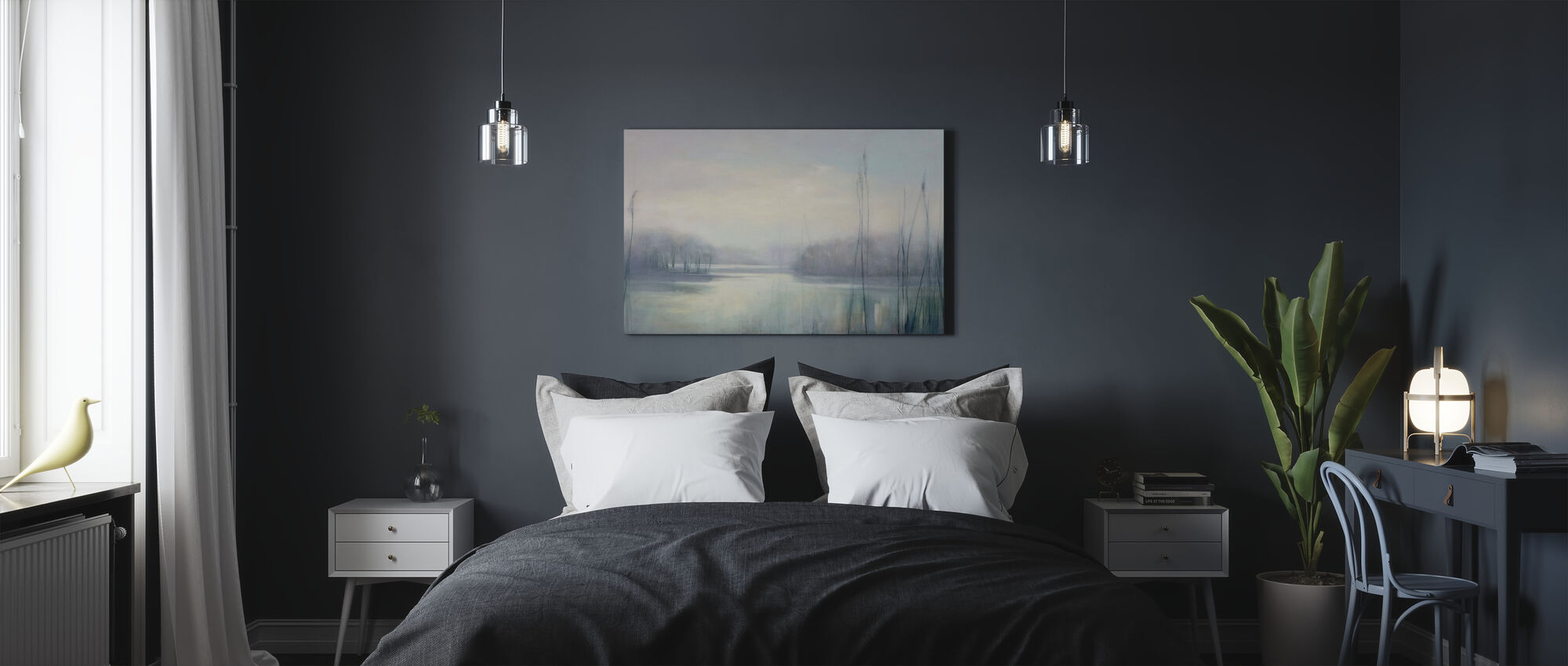 Misty Memories - Canvas print - Bedroom