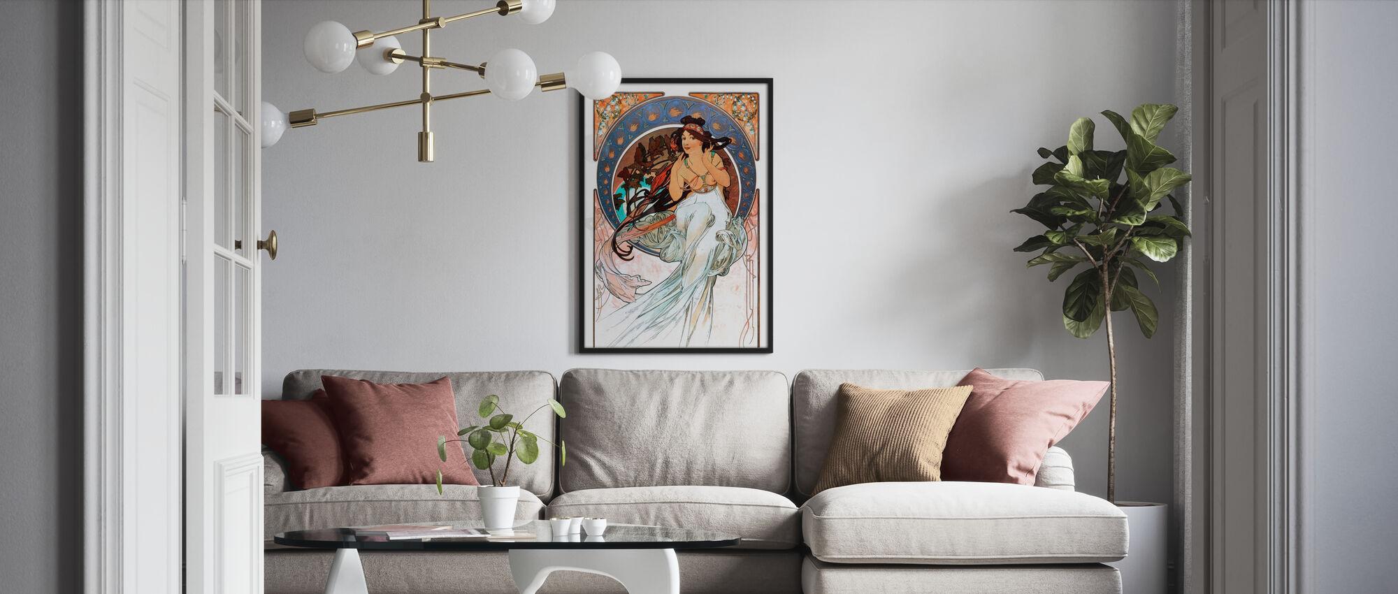 Alphonse Mucha - Art Noveau - Poster - Vardagsrum